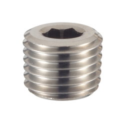 Tapered Screw Plug, NPT (for American Pipe)