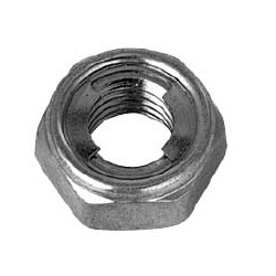 Iron U-Nut Thin Type (Smooth Cut)