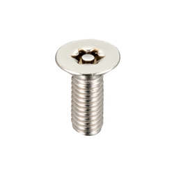 Flat Head 6-Lobe Socket Screws / Tamper-Proof Screw Fasteners