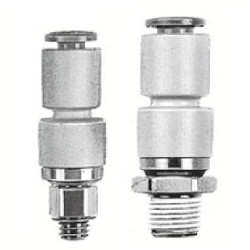 Male Connector KSH (Standard Type) Rotary One-Touch Fitting (SMC)