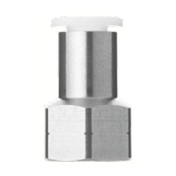 Stainless Steel One-Touch Pipe Fitting KQ2-G Series, Female Union Fitting KQ2F-G