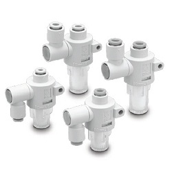 Air-Suction Filter With One-Touch Fittings ZFB Series
