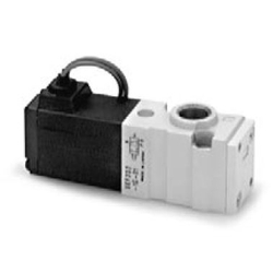 3Port Solenoid Valve Direct Operated Poppet Type VKF300 Series (SMC)
