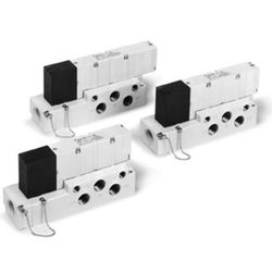 Base Mounted Type, Plug-In Single Unit VQ4000 Series (SMC)