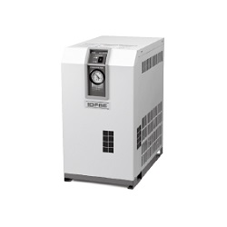 Refrigerated Air Dryer, Refrigerant R134a (HFC) Standard Temperature Air Inlet, IDF□E Series (SMC)
