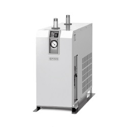 Refrigerated Air Dryer Standard Temperature Air Inlet, IDF□E Series (SMC)