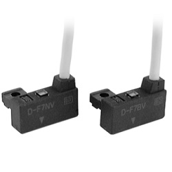 Solid State Auto Switch, Rail Mounting-Style, D-F7NV/D-F7PV/D-F7BV