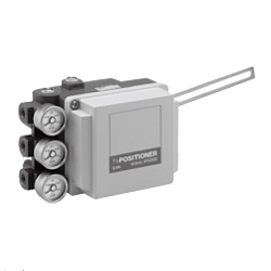 Pneumatic-Pneumatic Positioner IP5000/5100 Series (Lever Type / Rotary Type) (SMC)