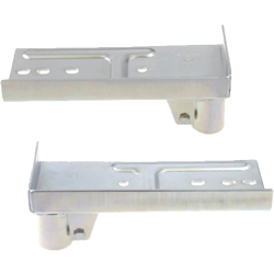 Caster Attachment Brackets for Pipe Frame, JB-004L/R