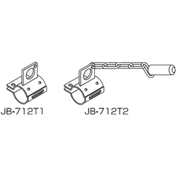 Hand Truck Connecting Element for Pipe Frame, JB-712T1/JB-712T2