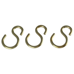 Parts Pack, S Hook, Aluminum