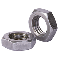 Hexagon Jam Nut With Washer Face (Fine: F46 Series, Coarse F48 Series)