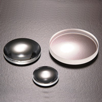 Both-side convex lens