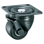 Low Floor Type, Heavy Load, Swivel Caster without Stopper K-610J