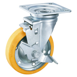 Anti-Static Freely Swiveling Caster with Stopper, K-630JS