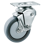 Stainless Steel, Cushioned Caster without Stopper, K-1940BBE
