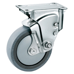 Stainless Steel Cushion Rigid Caster without Stopper K-1940ER