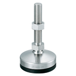 Stainless Steel Heavy Duty Swinging Leveling Foot, K-1277-B