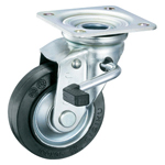Pressed Large Swivel Caster, with Stopper, K-52S