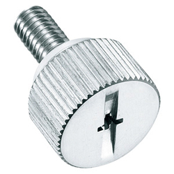 Stainless Steel, Phillips Head, Knurled Knob, Fastener A-1176-SP