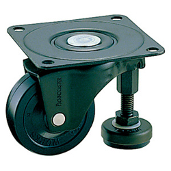 Swivel Caster and Adjuster Foot without Stopper, K-100AF