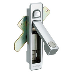 Flat Handle with Push Button A-160-A