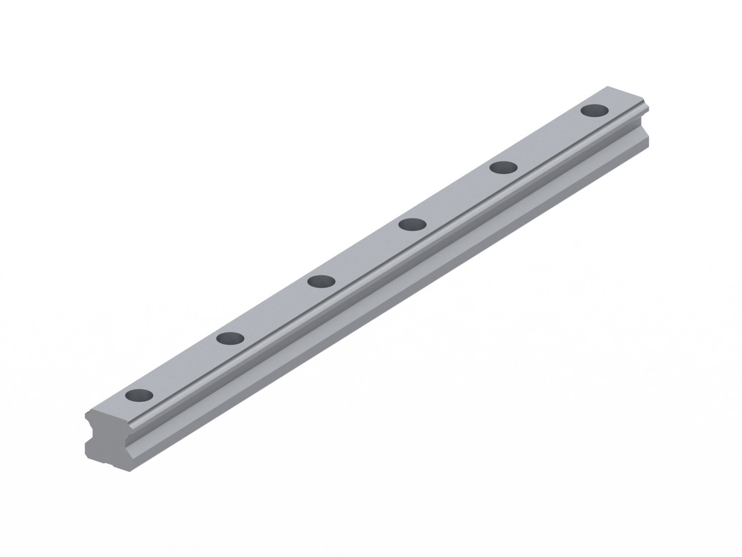 Caged Ball Linear Guide (Rail Only) - Standard Grade, Interchangeable, SHS Series (THK)