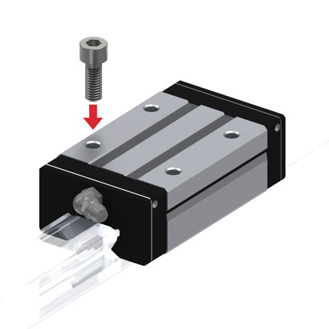 Radial Linear Guide (Block Only) - Interchangeable, SSR Series (THK)