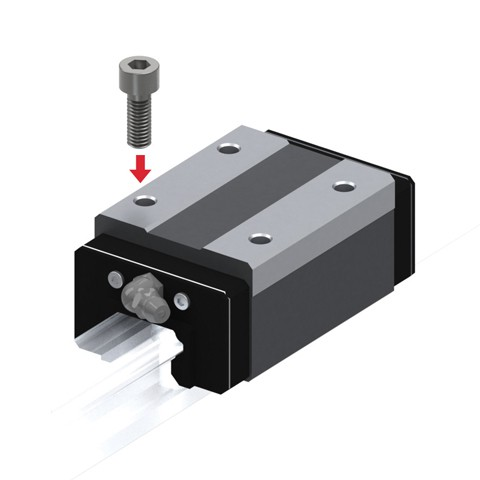 Linear Guide (Block Only) - Standard Grade, Interchangeable, HSR Series (THK)