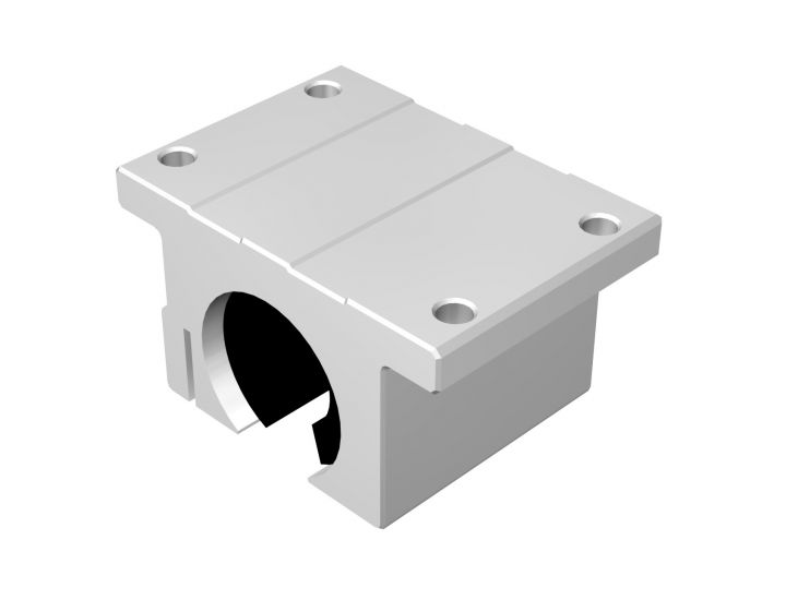 Linear Bushing Pillow Blocks - Inch, Open Type, SCB-OP Series (THK)