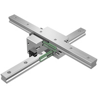 Caged-Ball, Cross Rail Linear Motion Guide Set