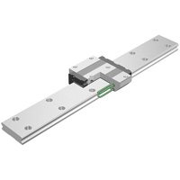 Linear Guide - Caged Ball Wide Rail SHW - Accuracy and Preload Selectable (THK)