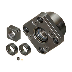 Ball Screw Support Units - Fixed Side - Round Type Model FK (THK)