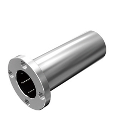 Stainless Steel Flanged Linear Bushing - Long Type, LMF-ML Shape (THK)