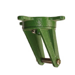 Ductile Caster for Tow Cart, Swivel, SR