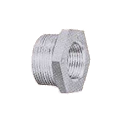Hex Bushing Pipe Fitting - Male, Cast Iron (Teikoku Metals)
