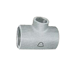 Pipe Fittings - Reducing Tee (Small Diameter Branches) - Coated