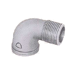 Pipe Fittings - Female/Male Elbow (Street Elbow) (with Band) - Coated