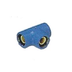Pipe End Corrosion Proof IPK Fittings - Reducing Tee (with Band)