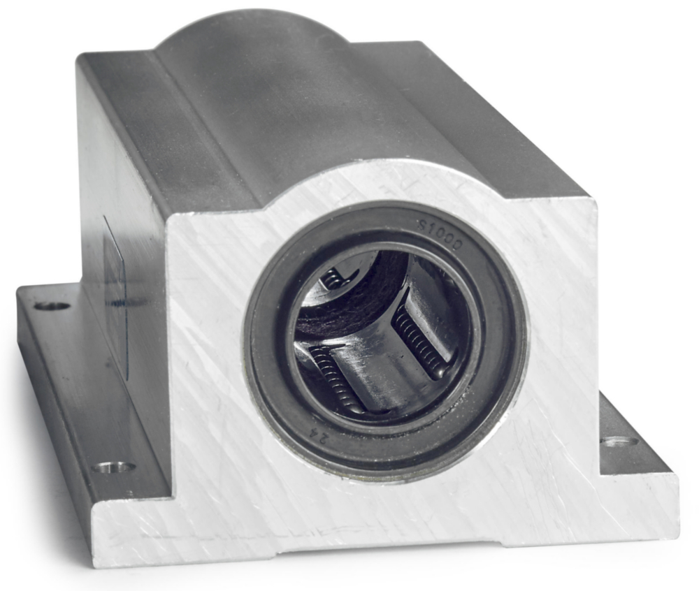 Super Smart Ball Bushing Bearings - Twin Pillow Blocks, Inch Measurements (Thomson Linear)