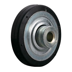 Single Wheel for Wheel Conveyor, Rubber-Lined Wheel of Diameter: 40mm