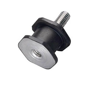 Hexagonal Single-end Stud Bolt with Vibration-Proof Rubber