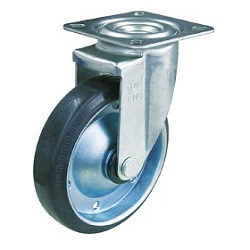 TYS Series Swivel Rubber Casters