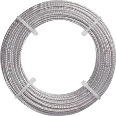 Stainless Steel Wire Rope (with Dedicated Sleeve) (Trusco Nakayama)