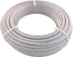 Plated Wire Rope, JIS-Certified