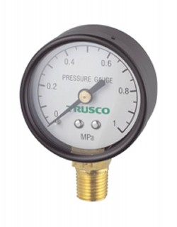 Trusco Pressure Gauge, Upright Type