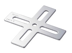 Joint Metal Fitting 24 Type Cross Type Flat