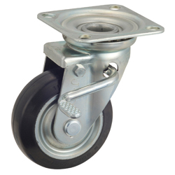 General Purpose Caster (Steel) Medium Loads Plate Swivel Type W Series WJ (GOLD CASTER)