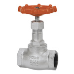 10K Type Ductile Cast-Iron Screw-in Globe Valve (Toyo Valve)
