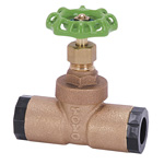 10 K Type - Lead-Free Bronze Socket Type Gate Valve (Toyo Valve)